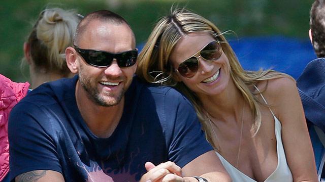 Heidi Klum splits from bodyguard boyfriend