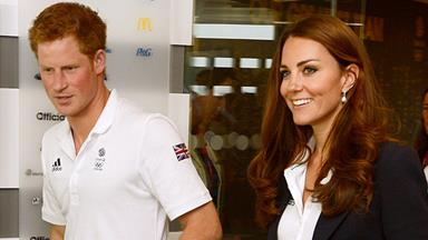 Kate gives Prince Harry relationship advice