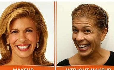 TV show hosts go makeup-free
