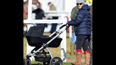 Race day for Zara Phillips' baby