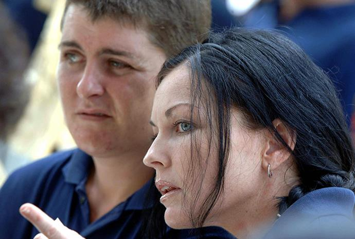 Bali Nine member Renee Lawrence and Schapelle inside Kerobokan prison.