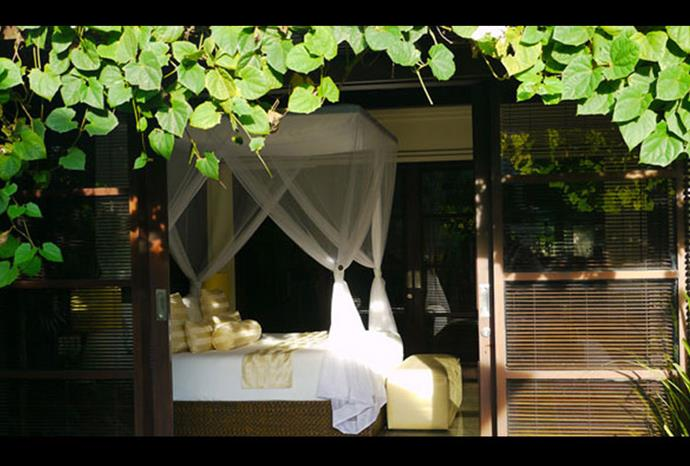 Each of our 43 private villas boasts a private swimming pool.