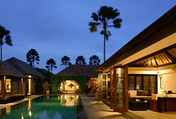 Paradise at the Sentosa Luxury Villas in Seminyak.