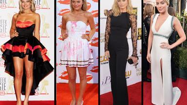 The style evolution of Margot Robbie