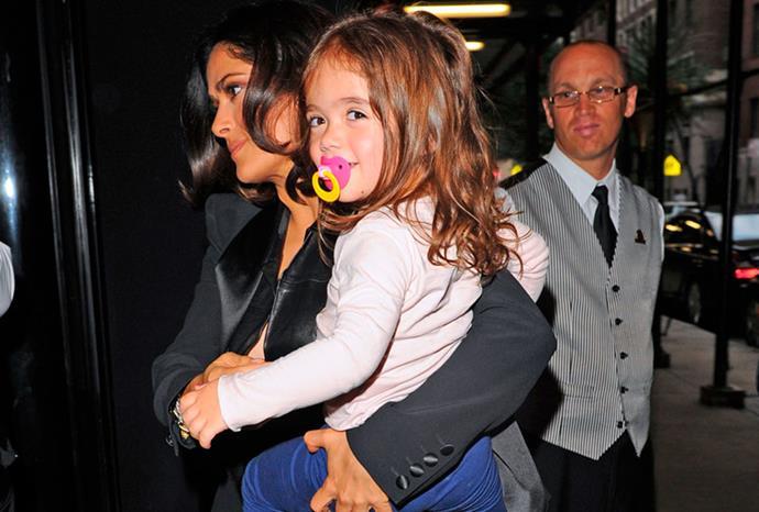 Salma Hayek's daughter Valentina.