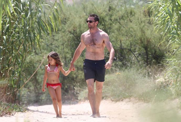 Hugh Jackman's daughter Ava.