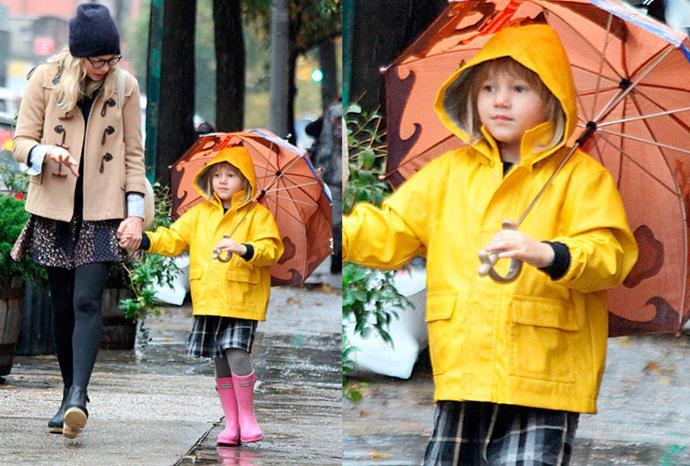 Michelle Williams and Heath Ledger's daughter Matilda.