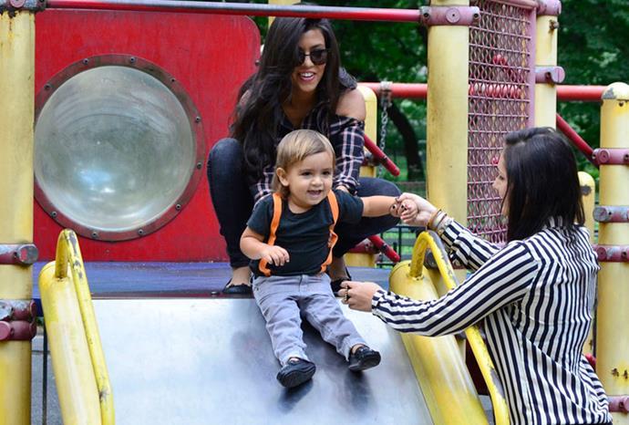 Kourtney Kardashian's son Mason Disick.