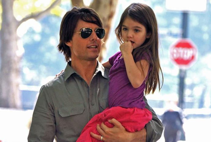 Tom Cruise and Katie Holmes' daughter Suri Cruise.