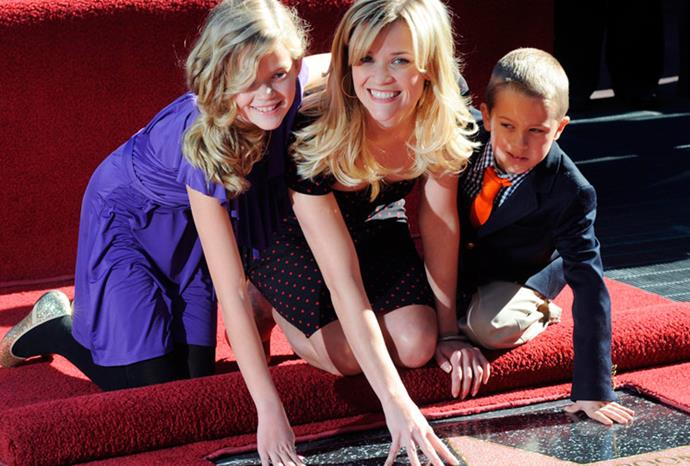 Reese Witherspoon's kids Ava and Deacon Phillippe.