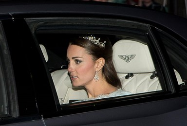 Duchess Kate sparkles in tiara