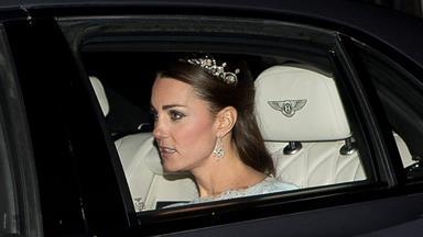 Duchess Kate sparkles in tiara