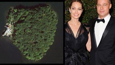 Angelina buys Brad an island!