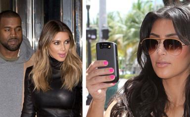 Kim and Kanye ban phones at their wedding