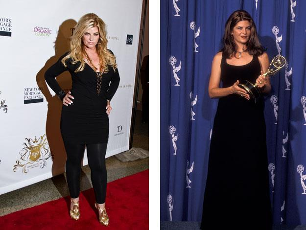 Self-deprecating Kirstie Alley has faced the battle of the bulge for decades.