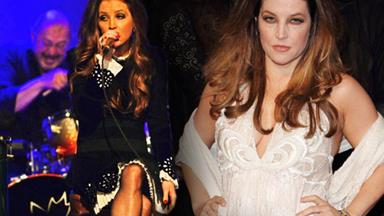 Lisa Marie Presley's amazing weightloss
