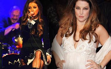 Lisa Marie Presley's amazing weightloss