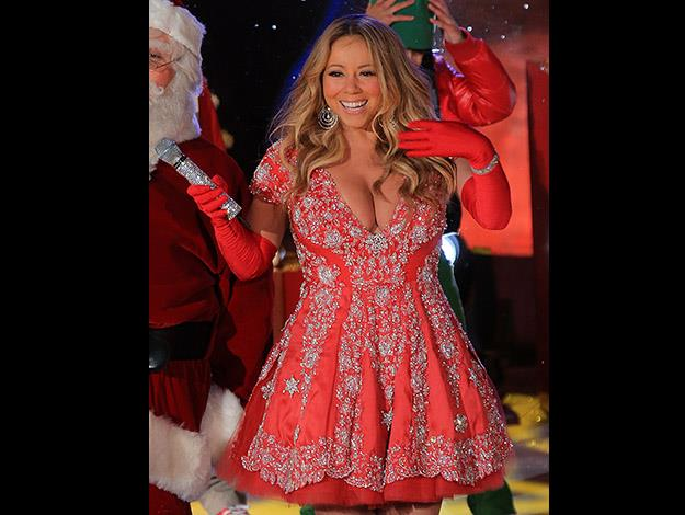 Mariah Carey thanks a portion-controlled diet and water workouts for her weight loss.