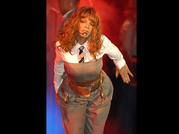 Janet Jackson says that she never weighs herself and still eats caramel apples.