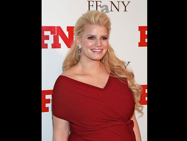 Jessica Simpson has struggled with her weight during and after pregnancies.
