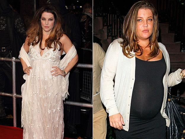Lisa Marie Presley puts her weight loss down to clean eating.