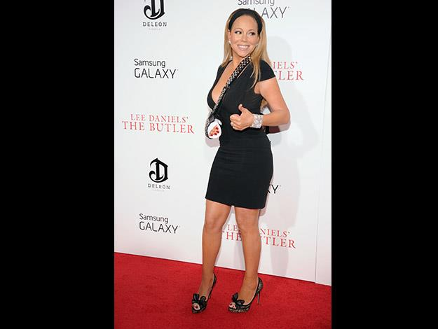 """Mariah Carey's trainer has said """"Working out, dedication and specific nutrition is what makes Mariah sculpted and lean."""""""