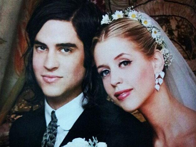 Peaches married Thomas Cohen, the lead singer of S.C.U.M, in September 2012.