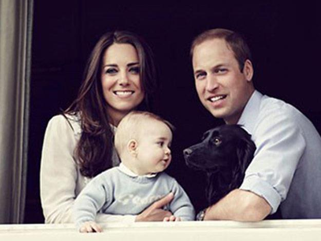 The Duke and Duchess of Cambridge released a family photograph with their eight month old son Prince George, ahead of their upcoming tour of New Zealand and Australia.