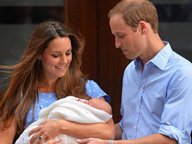 """The royal couple revealed they simply could not be away from their first born """"so far and for so long""""."""