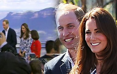 Kate and Wills in the Blue Mountains