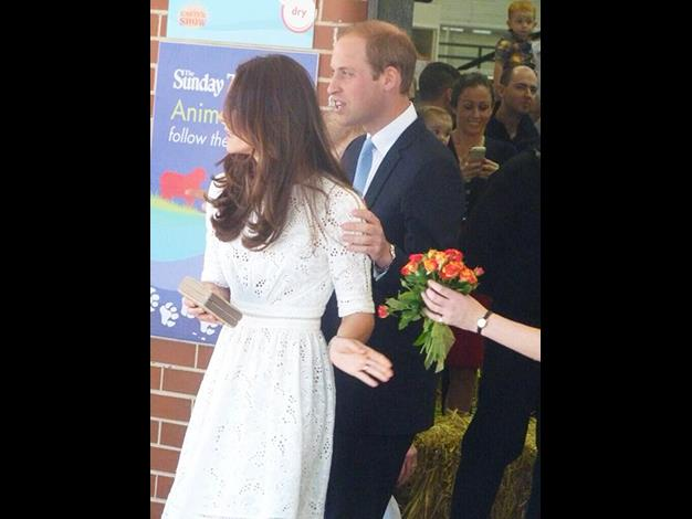 A candid shot of the Royal couple. Photo: @britishroyals via @RE_DailyMail via Twitter