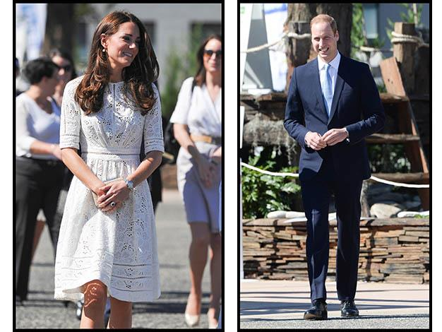 The Duke and Duchess at the Royal Easter Show. Photo: Media Mode