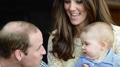 A day at the zoo for a Royal family