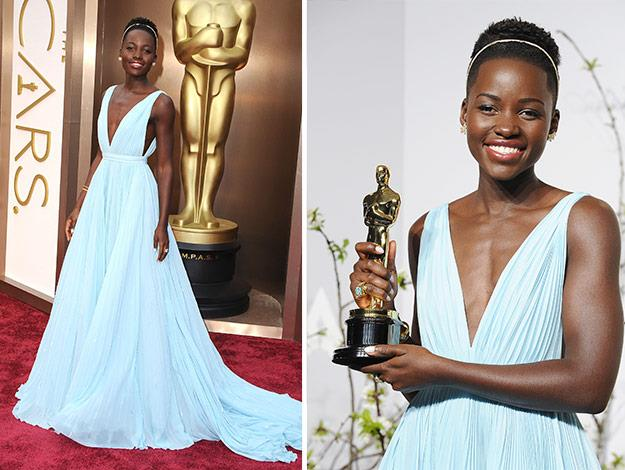 Lupita won an Oscar for her role in 12 Years a Slave.