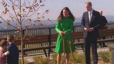 Wills and Kate visit Canberra