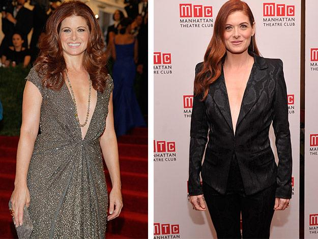 Debra Messing has lost weight through clean-eating rather than dieting.