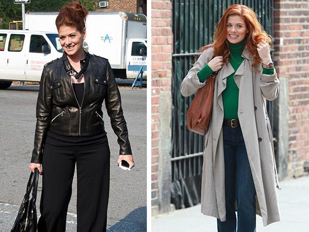Debra Messing is looking super-slim after adopting a new clean-eating attitude.
