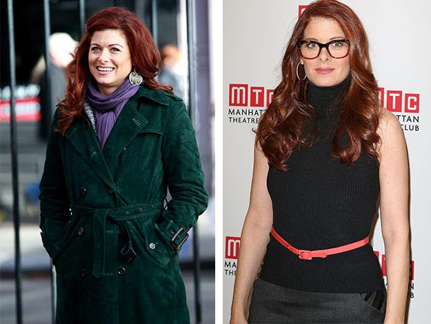 Debra Messing is looking better than ever!
