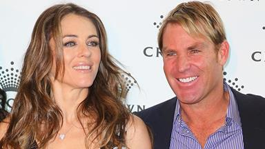 Liz Hurley opens up on split from Shane Warne