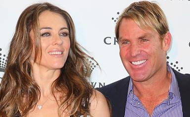 Liz Hurley opens up on split from Shane Warne