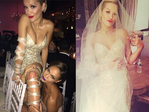 Rita Ora shared some fun pics from her time at the Met Gala.