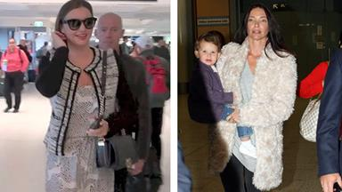 Erica Packer narrowly misses Miranda Kerr in Sydney