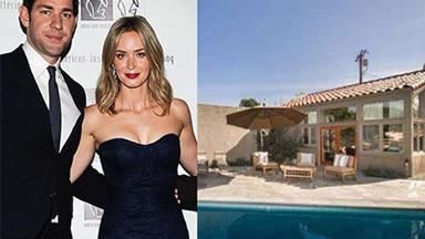 Emily Blunt and John Krasinski's $2.75 million Hollywood mansion