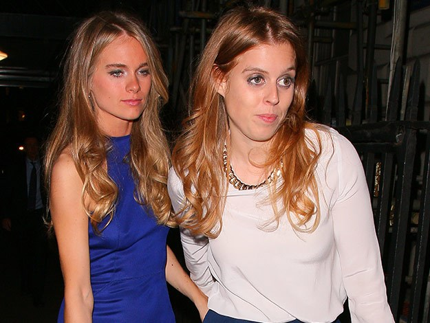 Cressida Bonas was recently spotted partying with Harry's cousins Princess Beatrice and Eugenie.