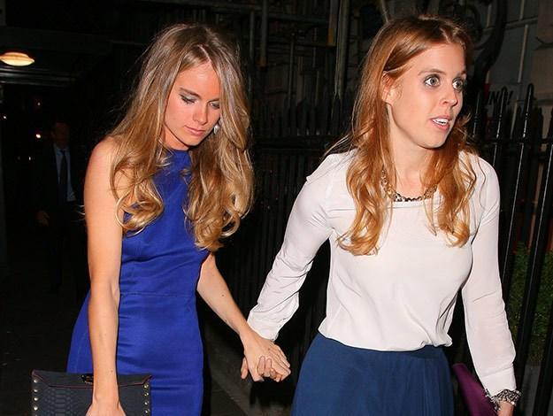 Prince Harry met Cressida through Princess Eugenie.