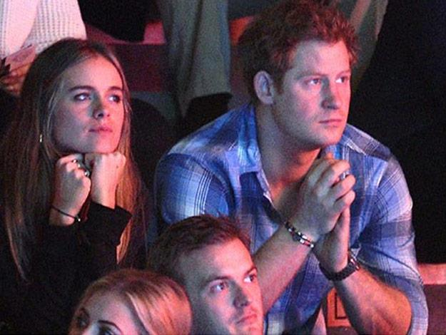 Cressida Bonas and Prince Harry attended a charity event together back in March.