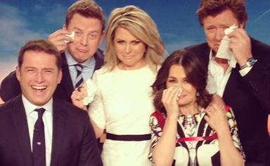 Georgie Gardner's shock announcement