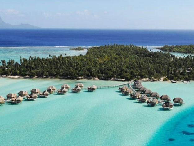 Overwater suites.