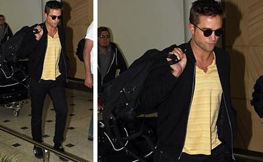 Heartthrob Robert Pattinson arrives in Sydney
