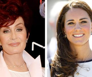 Sharon Osbourne takes swipe at the Duchess of Cambridge
